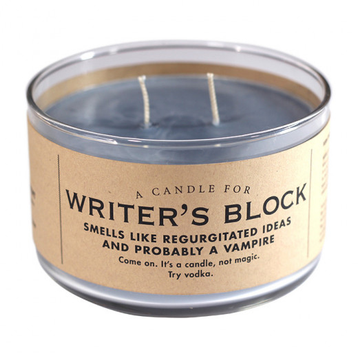 This will get their creative juices flowing when they get writer's block.