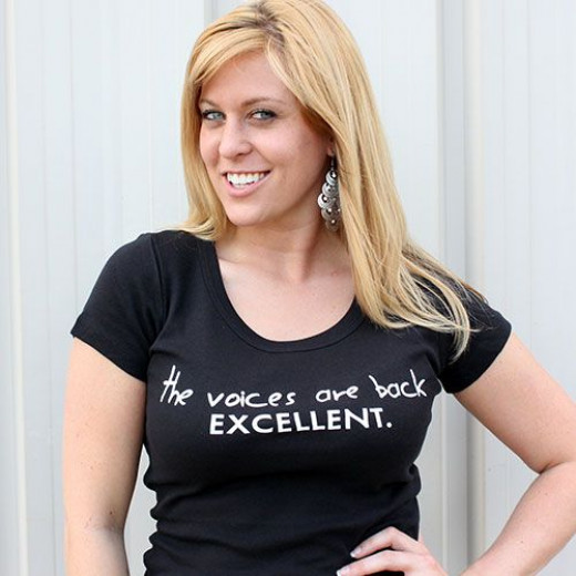 The perfect shirt for a writer :)