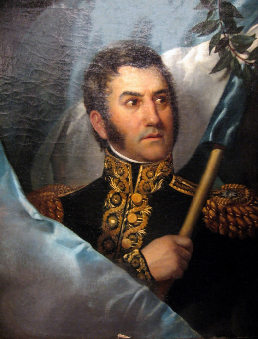 This is a portrait of José de San Martin.