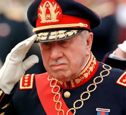 This is a photo of General Pinochet.