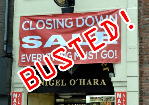 Nigel O'hara have finally gone out of business after taking thousands of pounds of money from the public with no intention of supplying goods!