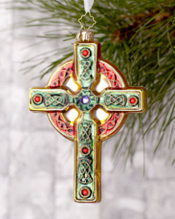 The Celtic cross created after the adoption of Christianity by the Celts.