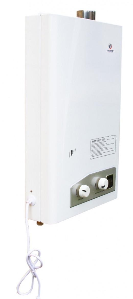Tankless water heater by Eccotemp