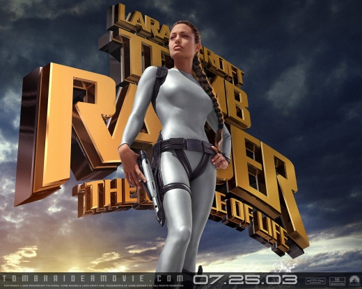 "Promotional poster for ""Lara Croft Tomb Raider: The Cradle Of Life"""