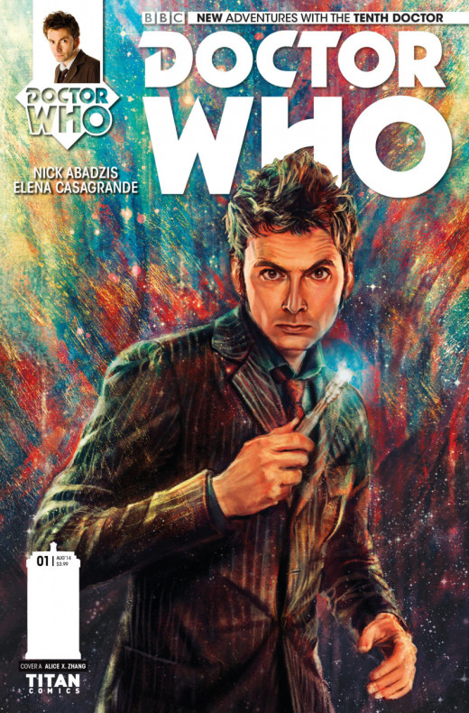 Tenth Doctor Issue 1 Cover