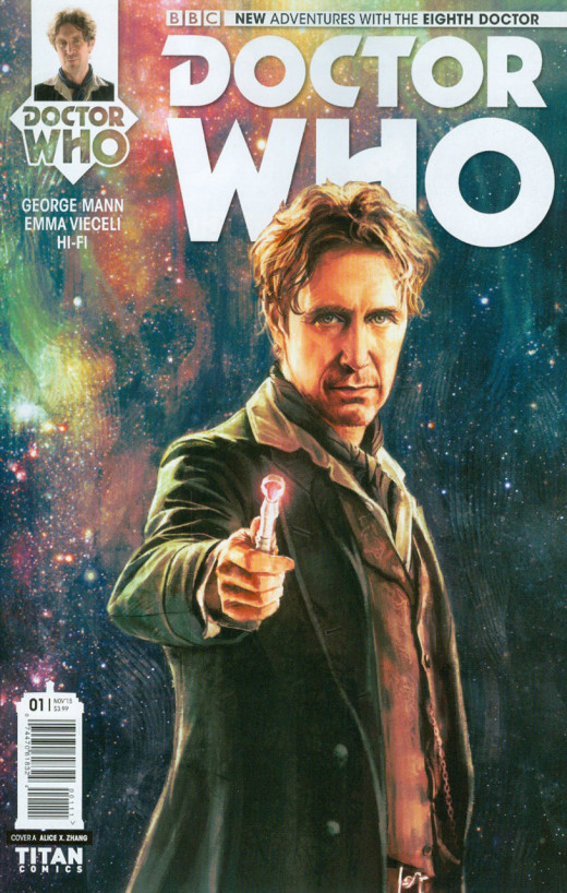 Eighth Doctor Issue 1 Cover