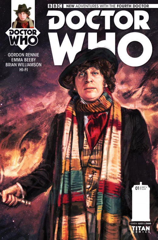 The Fourth Doctor Issue 1 Cover