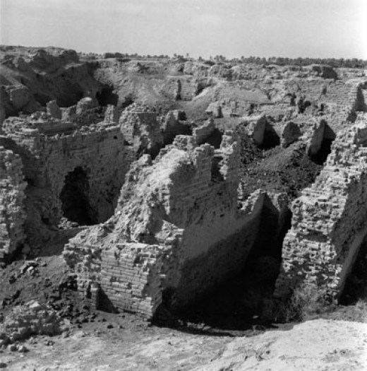 this photograph was captured last June 24, 1950 and many believed that it may have been the site of the hanging gardens...