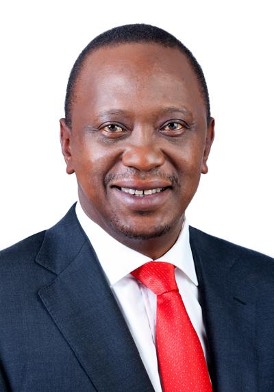 Uhuru Kenyatta is the current President of Kenya