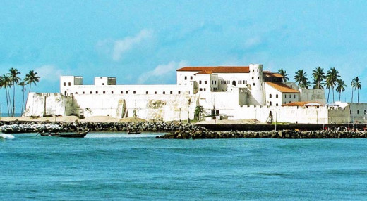 Elmina Castle, the oldest building in Ghana.