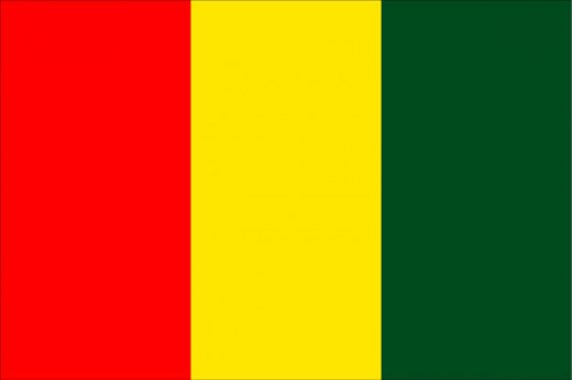 National Flag of Guinea-conakry