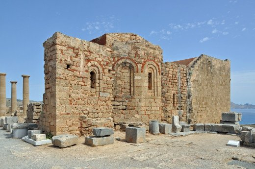 Rhodos Lindos Acropolis