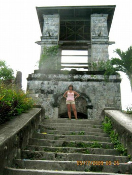 St. Jacob's Ladder in Samboan. This is a great cardio workout-all 150+ steps! The view is the reward.
