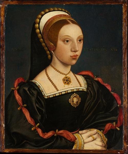 A possible portrait of Queen Catherine Howard.