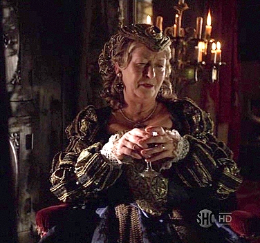 Dowager Duchess of Norfolk, as played on the Tudors.