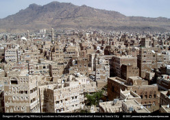 Bombarding Ill-Defined Military Targets in Yemen Causes Calamitous Loses Among Civilians
