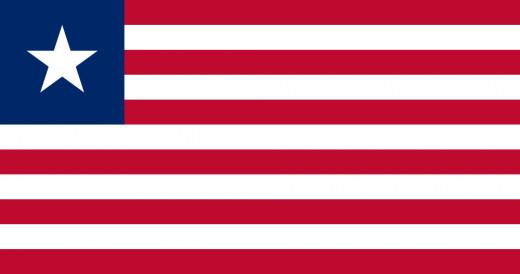 National Flag of Liberia