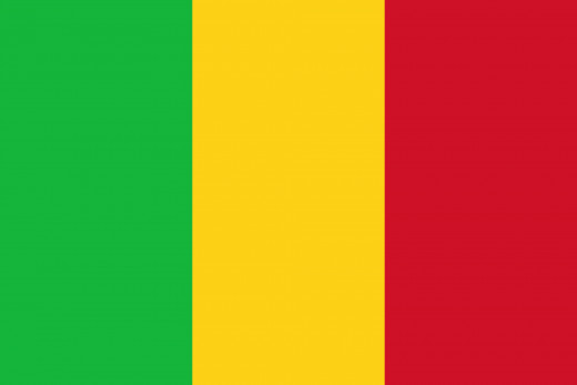 National Flag of Mali