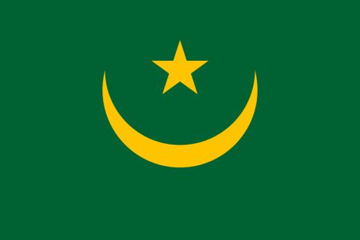 National Flag of Mauritania