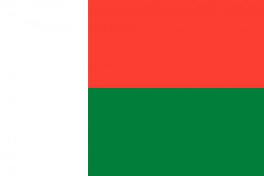 National Flag of Madagascar