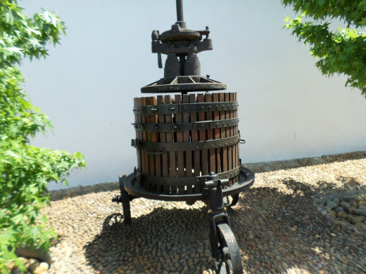 Nederburg has many historical pieces to see, including the old tools used for making wine centuries ago.
