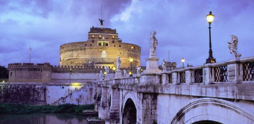 Castel Sant'Angelo - The Illuminati lair