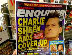 "Is Charlie Sheen ""Courageous"" for Revealing His HIV Status? Does Caitlyn Jenner Deserve Glamour's ""Woman of the Year"""