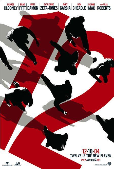 "Promotional poster for ""Ocean's Twelve"""