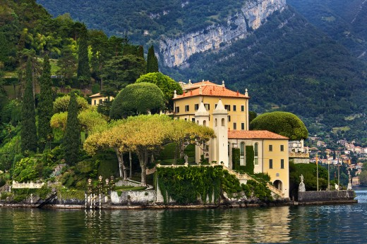 Italy's Lake Como provides a stunning backdrop for the equally fabulous stars to shine.