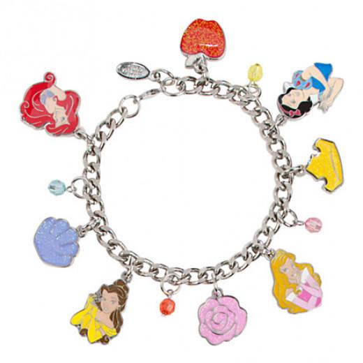 Disney princess charm bracelet.