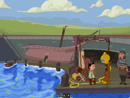 A scene from Apprentice II