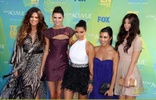 Famous for being famous the Kardashians have taught Caitlyn well.