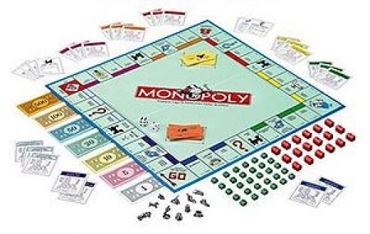 Monopoly Board & Dice Games
