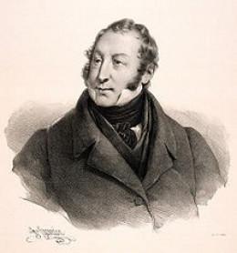 Rossini by Henri Grevedon