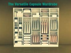 The versatile capsule wardrobe