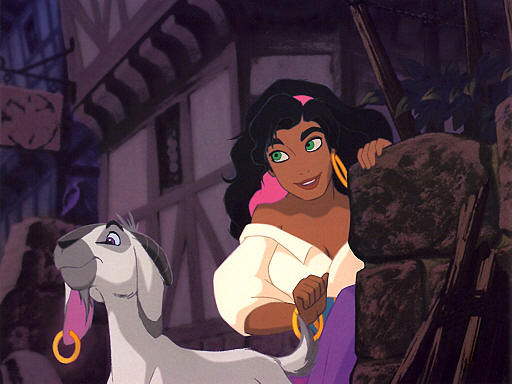 Esmeralda and Djali
