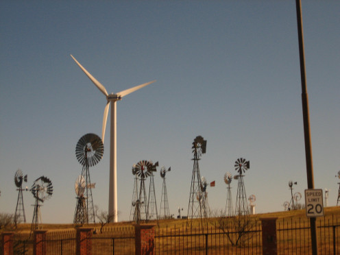 American Wind Power Center in Lubbock, Texas.