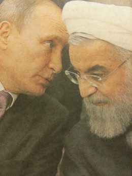 """Russia and Iran. """"Birds of a feather flock together."""""""