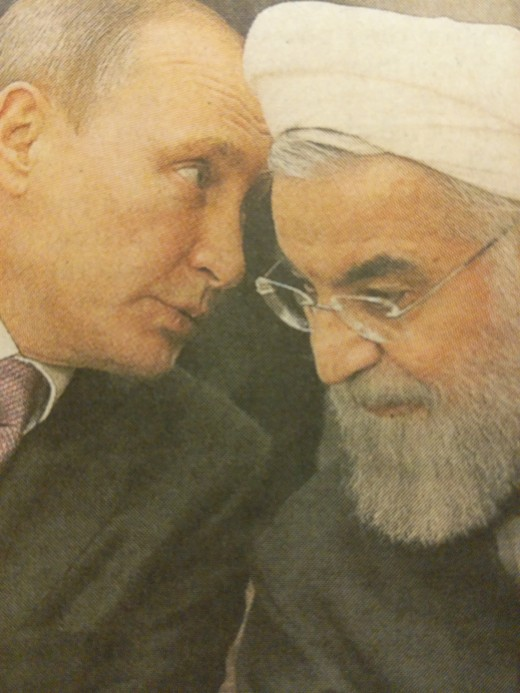 "Russia and Iran. ""Birds of a feather flock together."""