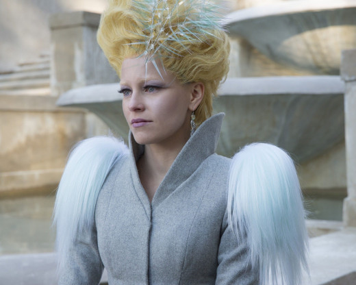 Effie's hair came back!!!!
