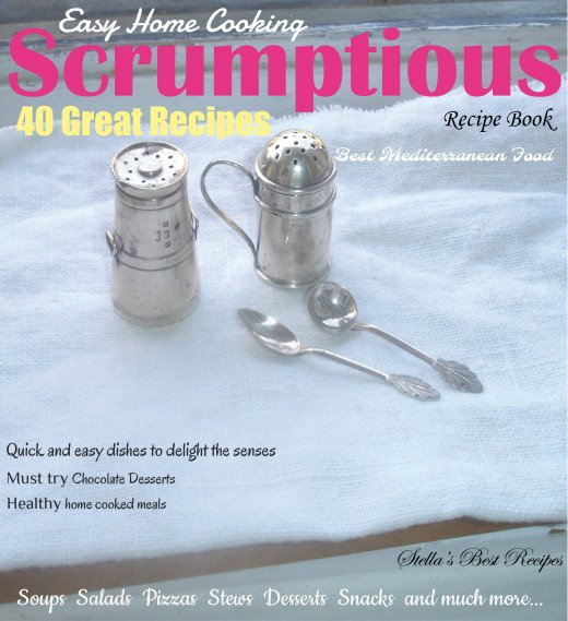 Our revised and improved recipe book cover