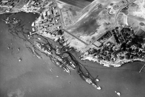 Three Days after Japanese Attack on Pearl Harbor