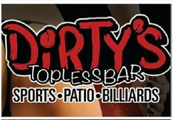 "The $5 Lunch Experience at ""Dirty's"" Topless Bar."
