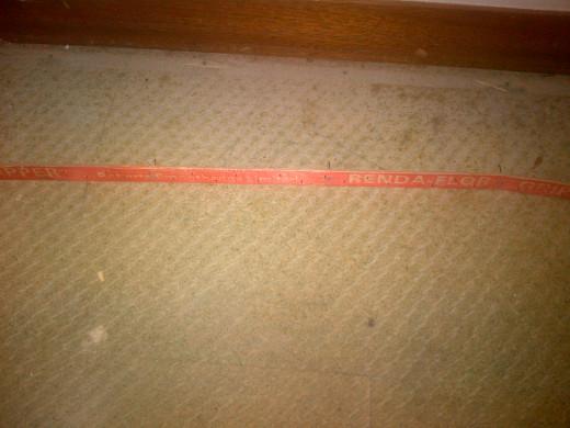 Close up of a gripper board