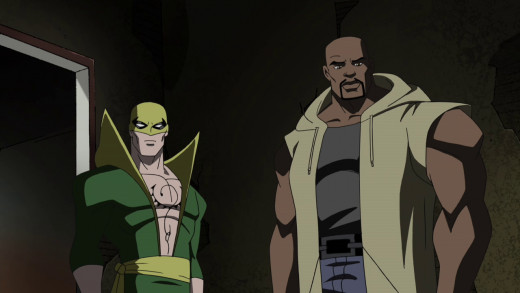 """No way! The Heroes for Hire!"""