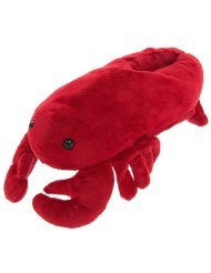 Red with claws - these slippers will make even the crabbiest people I know laugh!