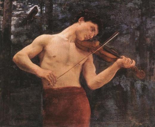Orpheus -   Károly Ferenczy (1862–1917) - PD-art-100