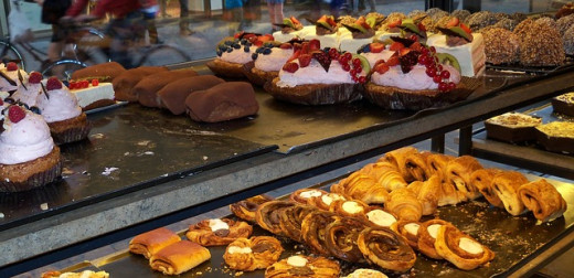 A Sample of the Pastries at the Island Roastery