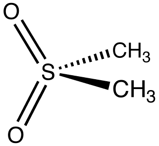 Chemical structure of MSM