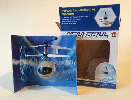 $5 Heli Ball flying sphere from Five Below